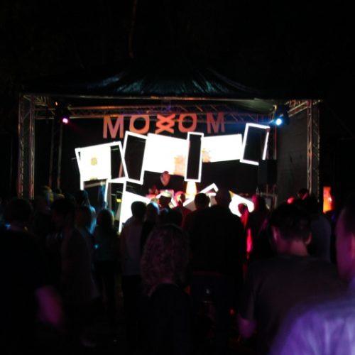 Moxxom Bühne